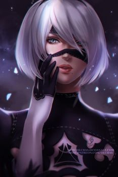 YoRHa No.2 Type B by OlchaS