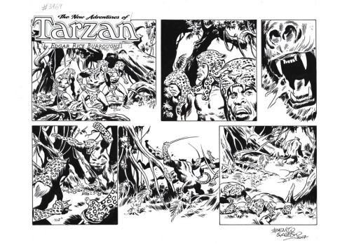 TARZAN#3769 ORIGINAL ART by benitogallego
