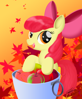 How do you like dem apples? by BluDraconoid