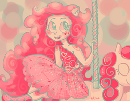 Cotton Candy Carousel by PuffPink
