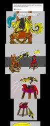 Chainsaw Vigilante and Deadpool comic #9 part 1 by arcanineryu
