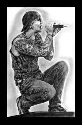Avenged Sevenfold : M. Shadows by tll-bam