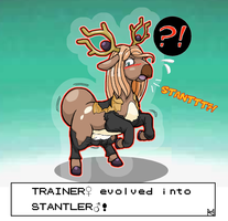 Com: Evolving Into Stantler (Stantler TF/TG)
