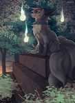 Fox Shrine by falvie