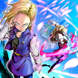 Android 18 by weslwy1802fr