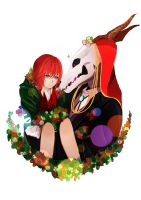 Chise And Ellias by madyui0v0