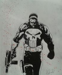 The Punisher by LalyKiasca