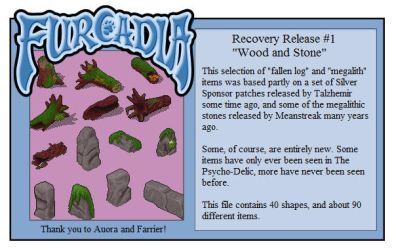 Recovery 1: Wood and Stone by RatTheUnloved