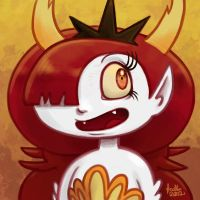 Daily Sketches Hekapoo by fedde