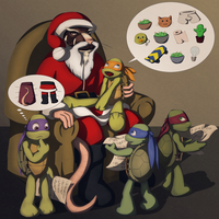 Meeting Santa by Spirael