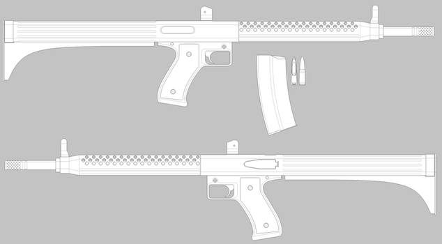 Cheapy-gat (WiP) by Archangel-Industries