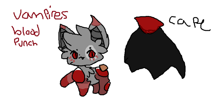 [DrinkCat] Vampires Blood Punch AUCTION *Closed* by moonpups