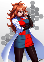 DRAGONBALL FIGHTER Z : More Android 21 by jadenkaiba