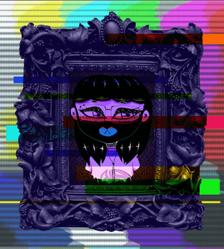 Glitch aesthetic /EPILEPSY WARNING/ by TashiiKouhai