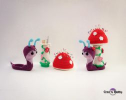 Reureu the Snail by Crocsbetty
