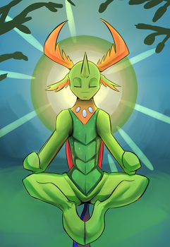 Bug Zen (commission) by double-ZR-tap