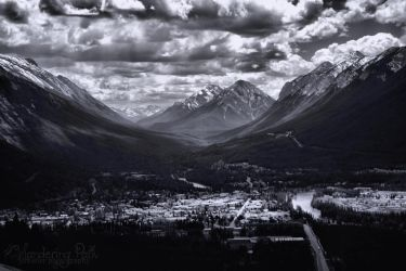 Bow Valley by wanderingpath