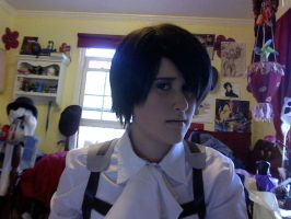 Levi Rivaille Makeup Test by CasuallyDisregarding