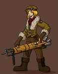 Steampunk Explorer by Morgoth883