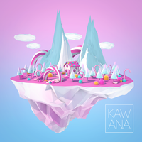 Low Poly - Candy Island by Kawana-n