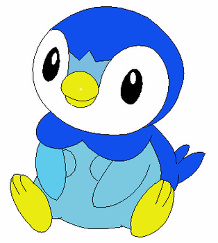 Piplup ~ For Tatey88 by TheBendyFandum
