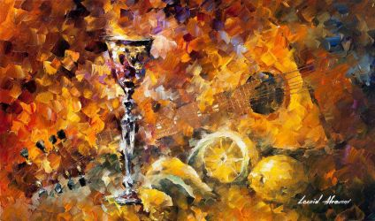 Greek Impression by Leonid Afremov by Leonidafremov