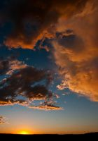 Billings Sunset by urbanpsycho