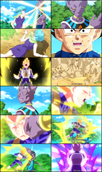 Dragon Ball Z: Battle Of Gods' best moment! by Fawadd