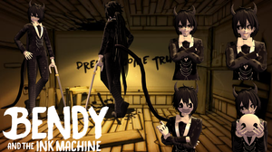 Bendy and the Ink Machine - MMD model [DL DOWN] by TheStevieBoy