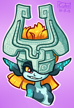 COMMISSION: Midna by Cubesona