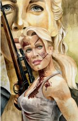 Andrea -by Artist AJ Moore by GudFit