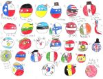My top 30 Countryballs by thegerman15