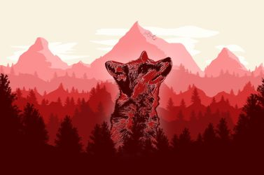 -- Mountains and Forests -- by 0l-Fox-l0