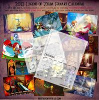 The 2013 Calendar: Make Your Own by Woodland-Mel