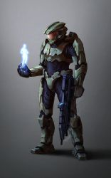 Master Chief - Spartan 117 by Kuren