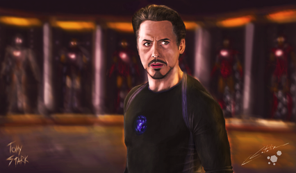 Tony Stark by Lozzus