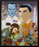 Star Wars Rebels by Gilliland35