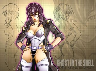 Ghost In The Shell by mikems71