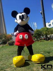 Mickey Mouse cosplay by The-Katherinator