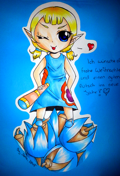 Aryll from WindWaker by Loki-Liesmith