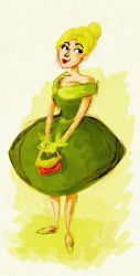 Fifites Tinkerbell by schnestel