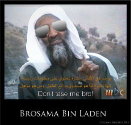 Brosama Bin Laden by Coleslayer
