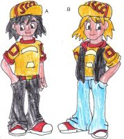 Bill and Ben Outfits by CCB-18