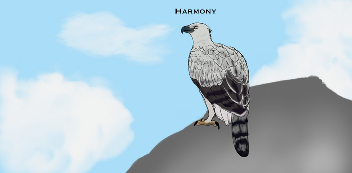 Harmony The Crowned Eagle by TheDragonsoulofNight