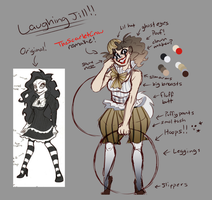 Fan-Redesign: Laughing Jill (Read Description) by TheScarletCrow