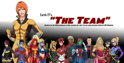 [Earth-27 Rosters] The Team by Roysovitch