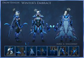 Steam Workshop - Drow Ranger Item Set by YeeWu