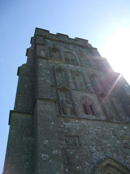 Sun on Glastonbury Tor by SamsaraDesigns