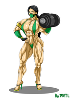 Jade workout by Superstrongbabes