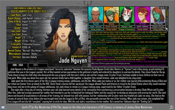 [Earth-27: Oracle Files] Jade Nguyen (Page 1) by Roysovitch